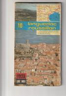 CART'INDEX REGIONALES - N° 10 - LANGUEDOC  ROUSSILLON  échelle 1:25000 - Circa 1980 - Roadmaps