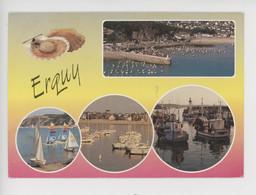 Erquy - Multivues, Coquille Saint Jacques - Station Balnéaire Et Port De Pêche - Erquy