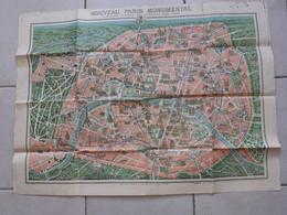 Nouveau PARIS MONUMENTAL - Itinéraire Pratique De L'Etranger à PARIS / MONUMENTS Et VUES Des Environs De PARIS - Altri