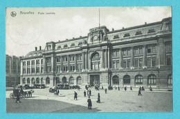 * Brussel - Bruxelles - Brussels * (Nels, Série 1, Nr 207) Poste Centrale, Post Office, Postkantoor, Animée, Cheval, Old - Brussels (City)