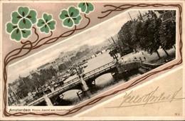 Amsterdam - Binnen Amstel Amstelbrug - 1903 - Amsterdam