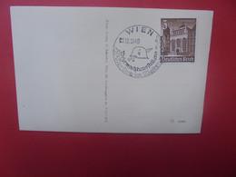 3eme REICH Wien 1940 - Cartas