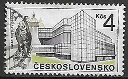 TCHECOSLOVAQUIE     -    1988 .    Y&T N° 2778 Oblitéré.   Palais De La Culture à Prague. - Usados