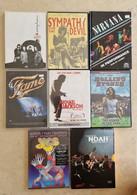 DVD Lot De 8 FILMS MUSICAUX Dont 2 Coffrets Doubles Tous Différents (occasion) Excellent état - Concerto E Musica