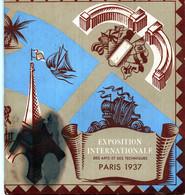EXPOSITION INTERNATIONALE Des Arts Et Des Techniques PARIS 1937 - Plan Des Pavillons Offert Par CENTRACO - Tourism Brochures