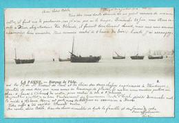 * De Panne - La Panne (Kust - Littoral) * (Th. Van Den Heuvel, Nr 8) Barques De Peche, Bateau, Boat, Sea, Mer, Unique - De Panne