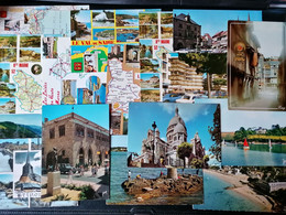 Lot De 106 Cpsm. France. Non Voyagée. 1e. A Voir. - 100 - 499 Cartoline