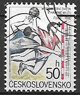 TCHECOSLOVAQUIE   -   1990 .  Y&T N° 2838 Oblitéré.  Handball - Usados