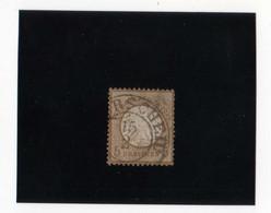 AIGLE EN RELIEF, PETIT éCUSSON  5G BISTRE  OBL. N° 6 YVERT ET TELLIER  1872 - Oblitérés