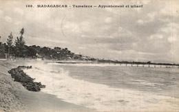 MADAGASCAR TAMATAVE APPONTEMENT ET WHARF - Madagascar
