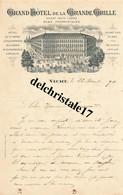 03 0033 VICHY ALLIER 1898 Grand Hôtel De La Grande Grille Prop. PIAT à M. GOUANAUD - 1800 – 1899