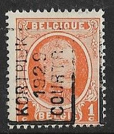 Kortrijk 1929  Nr. 4516A - Roulettes 1920-29