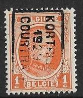 Kortrijk 1929  Nr. 4516B - Roulettes 1920-29
