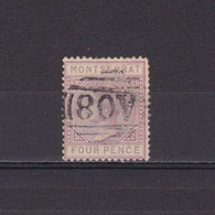 MONTSERRAT 1885, SG #12, Used - Montserrat