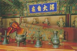 BEIJING - TEMPLE OF THE SLEEPING BUDDHA (10 X 15) - China