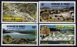 Djibouti N° 579 / 86 XX : Paysage Et Faune Les 8 Valeurs Sans Charnière TB - Yibuti (1977-...)