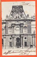 AA053 ⭐ PARIS VII Le LOUVRE Pavillon COLBERT Façade 1902 à Henry DAVID Poste Restante Prades - Distretto: 07