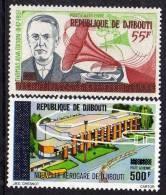 Djibouti P.A. N° 112 /13  XX : Timbres Des Afars Et Issas Surchargés La Paire Sans Charnière TB - Yibuti (1977-...)