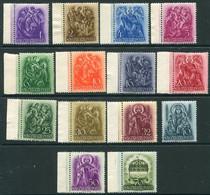 HUNGARY 1938 900th Anniversary Of St. Stephen MNH / **.  Michel 551-64 - Nuevos