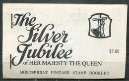 Montserrat Mi# 363-5 Markenheft/booklet Postfrisch/MNH - QEII Silver Jubilee - Montserrat