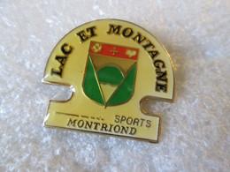 PIN'S   LAC ET MONTAGNE   MONTRIOND - Steden