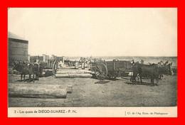 Diego Suarez , Les Quais     ( Recto Et Verso ) - Madagascar