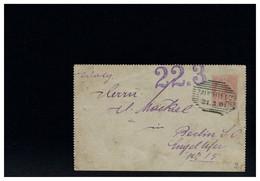 AUSTRIA - ZAUCHTEL - 1901 - Cartas