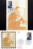 """"""" PASTEUR """" Sur Carte Maximum Et Enveloppe 1er Jour Sur Soie De 1995 N°YT 2925 Parf état CM FDC - Louis Pasteur"""