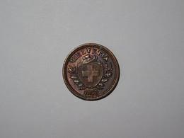 Suisse / Switzerland Pièce 1 Rappen 1853B - Suiza