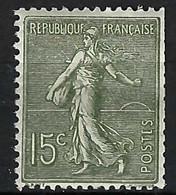 FRANCE 1903: Le Y&T 130c Neuf**, Dents Rognées Côté E - 1903-60 Sower - Ligned