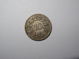 Suisse / Switzerland Pièce 10 Rappen 1871B - Switzerland