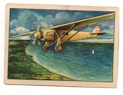 Image Série 23 Bild 2Die Entwicklung Der Modernen Luftfahrt Lindbergh's Europaflug Echte Wagner Margarine - Other