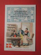CHROMO Tisane Des Pères Célestins.Texte Au Dos. Le Papier Monnaie  Danemark. L'hospitalité. - Unclassified