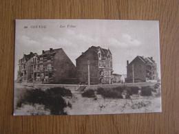COXYDE KOKSIJDE 326 Les Villas Mer Littoral Zee Flandre België Belgique Carte Postale Postcard - Koksijde