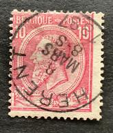 Leopold II OBP 46 - 10c Gestempeld HERENT - 1884-1891 Leopoldo II