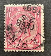 Leopold II OBP 46 - 10c Gestempeld LA PINTE - 1884-1891 Leopoldo II