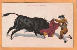 Mexico Bullfighting Old Postcard - Mexique