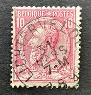 Leopold II OBP 46 - 10c Gestempeld LICHTERVELDE - 1884-1891 Leopoldo II