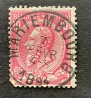 Leopold II OBP 46 - 10c Gestempeld MARIEMBOURG - 1884-1891 Leopoldo II