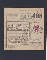 TR 204 COLIS DU SOLDAT TARIF PREFERENTIEL / Bulletin De  JAUCHE - 1923-1941