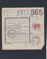 TR 204 COLIS DU SOLDAT TARIF PREFERENTIEL / Bulletin De  MARBEHAN N° 2 - 1923-1941