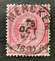 Leopold II OBP 46 - 10c Gestempeld MERCKEM - 1884-1891 Leopold II