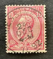 Leopold II OBP 46 - 10c Gestempeld MESSINES - 1884-1891 Leopoldo II