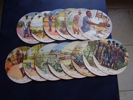 Lot Chromos Images Vignettes Vache Qui Rit  *** Congo Belge *** - Album & Cataloghi