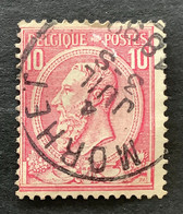 Leopold II OBP 46 - 10c Gestempeld MORHET - 1884-1891 Leopoldo II