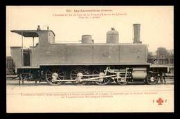 83 - TOULON - CHEMINS DE FER DU SUD DE LA FRANCE - LOCOMOTIVE TENDER - EDITEUR F. FLEURY - Toulon