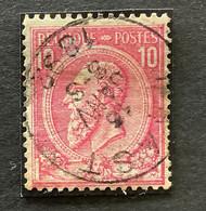 Leopold II OBP 46 - 10c Gestempeld NAAST - 1884-1891 Leopoldo II