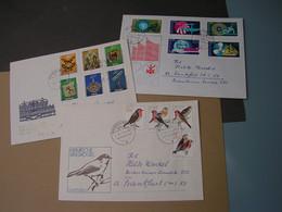 DDR 3  ältere Briefe - Alla Rinfusa (max 999 Francobolli)