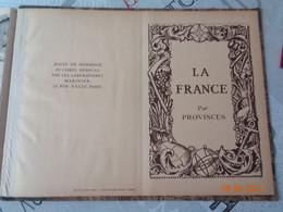 La France Par Provinces  édité Par Les Laboratoires MARINIER - Carte Geographique