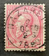 Leopold II OBP 46 - 10c Gestempeld NAZARETH - 1884-1891 Leopoldo II